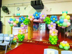 Flower Balloon Arch Singapore