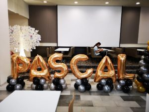 Balloon Letters Decorations