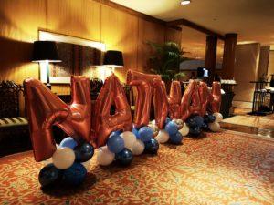 Balloon Name Decorations Singapore