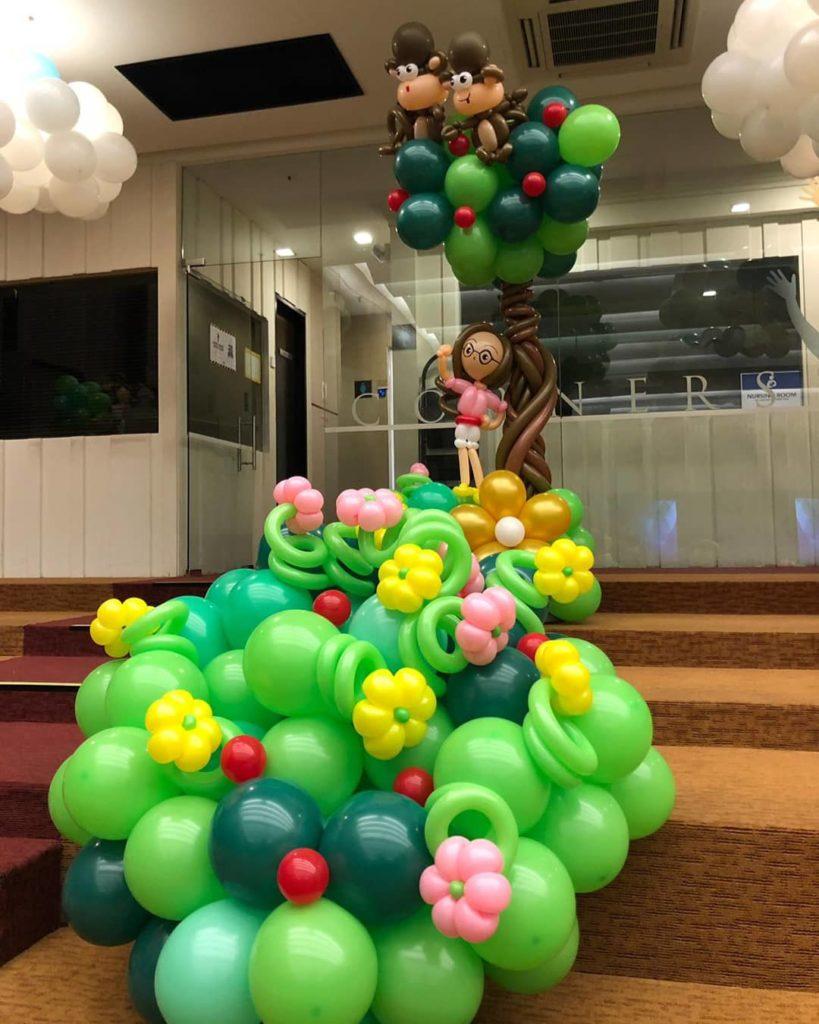 Balloon Plants Decoration