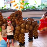 Balloon Reindeer Sculpture