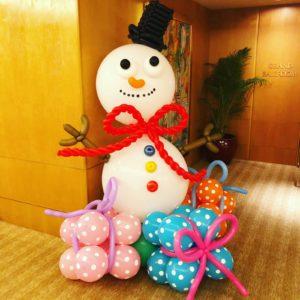 Balloon Snowman Decorations Singapore