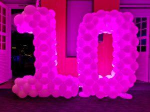 Large Balloon Number Display Singapore