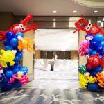 Underwater theme Balloon Columns