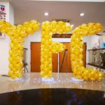 YFC Balloon Letters with Lights