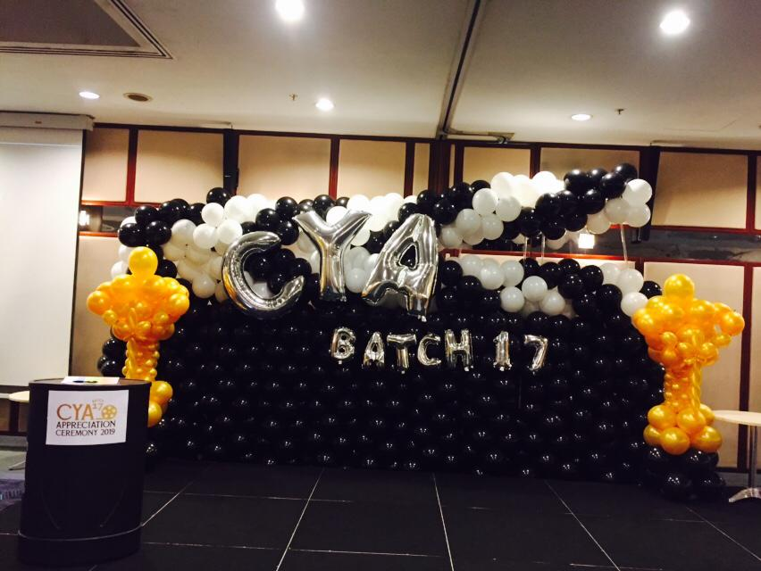 Balloon Clapper Backdrop Decorations