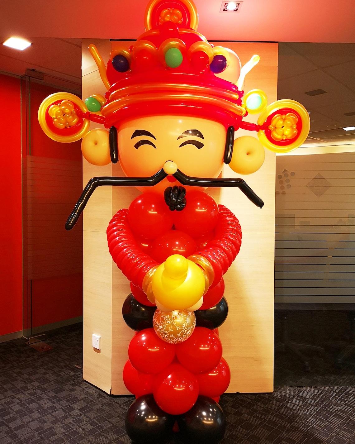 God of Fortune Balloon Sculpture