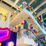 Helium Balloon Decor Set up
