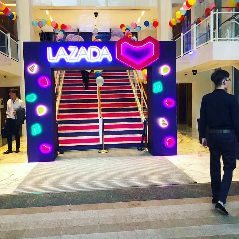 Helium Balloons done for Lazada