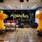 Oscar Balloon Decoration for Netflix