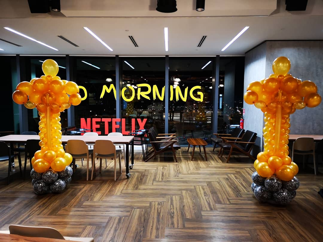 Oscar Balloon Decoration for