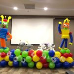 Robot Balloon Decorations Singapore