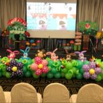 Stage Front Animal Balloon Decorations