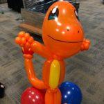 Balloon Charmander Sculpture