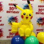 Balloon Pikachu Sculpture