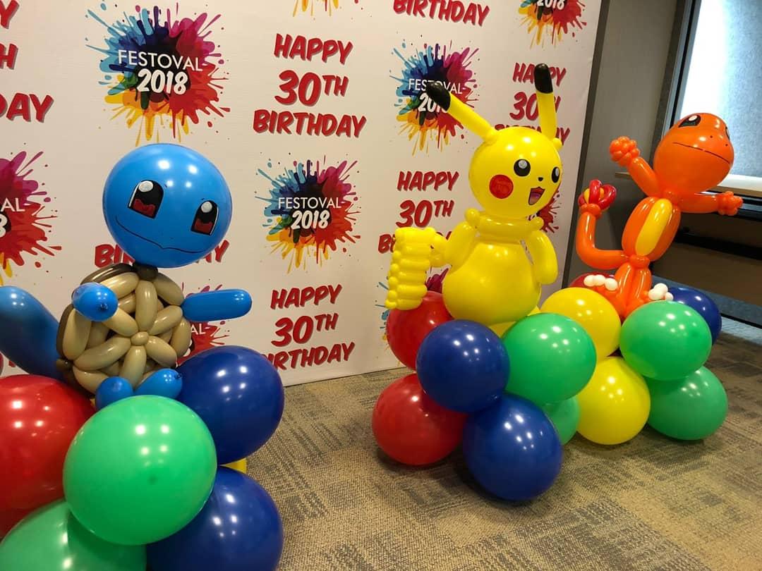 Balloon Pokemon Decoration