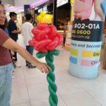 Balloon Rose Sculpture