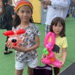 Balloon Sculpting at Marina Bay Carnival