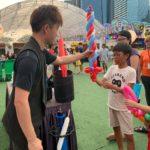 Free Balloon Sculpture Marina Bay Carnival