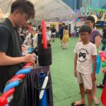 Free Balloon Sculpture at Prudential Carnival
