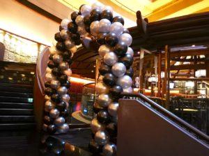 Grand Spiral Balloon Arch