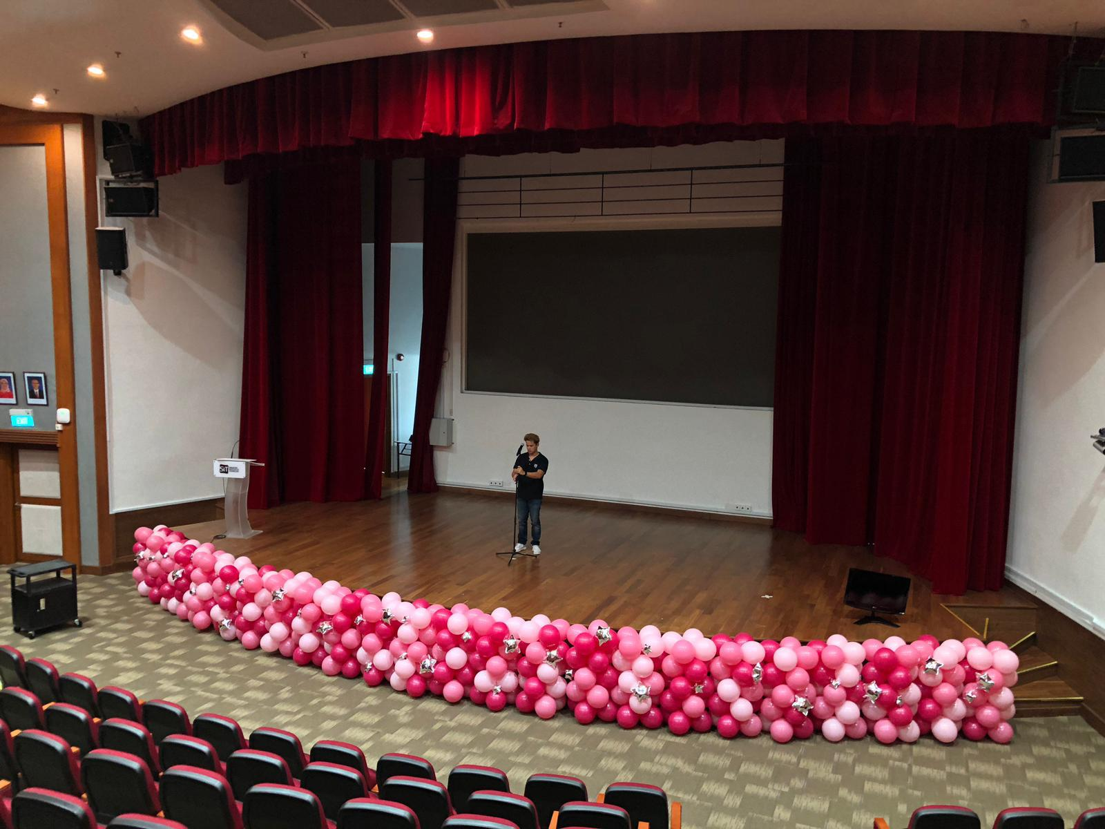Balloon Decoration at Stage Front