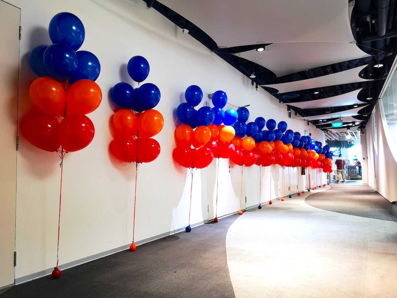 Helium Balloon Bundles Decoration