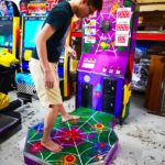 Spider Stomping Arcade Machine for Rent
