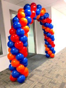 Spiral Balloon Arch Decor