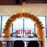 Balloon Arch Decoration for Netflix
