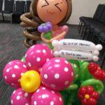 Customised Balloon Girl Sculpture