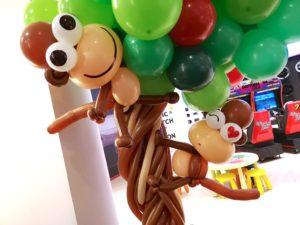 Large Balloon Monkey Sculpture