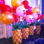Pineapple Balloon Sculpture Decoration