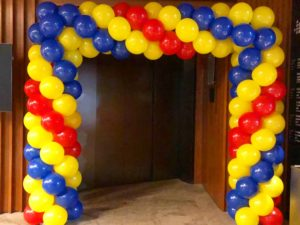 Rectangle Balloon Arch for Hire