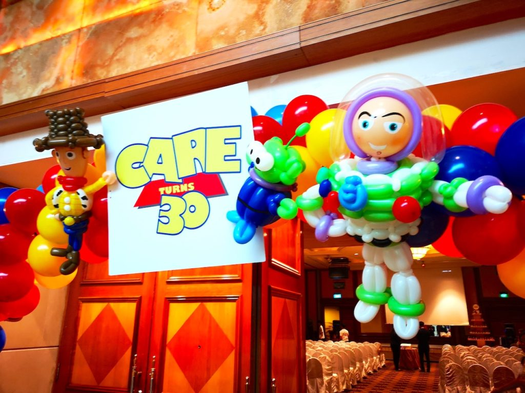 Toy Storey Balloon Arch