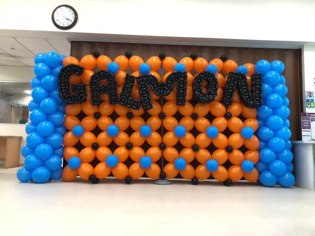 Balloon Backdrop for Galmon