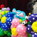 Balloon Flowers and Animals