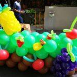 Balloon Fruits Sculpture