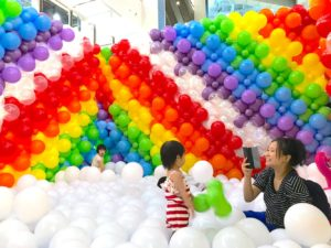 Balloon Pit for Shopping Mall
