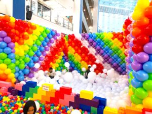 Giant Ball Pit and Balloon Pit