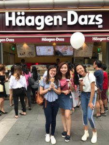 Helium Balloon with Logo Printing for Haagen Dazs