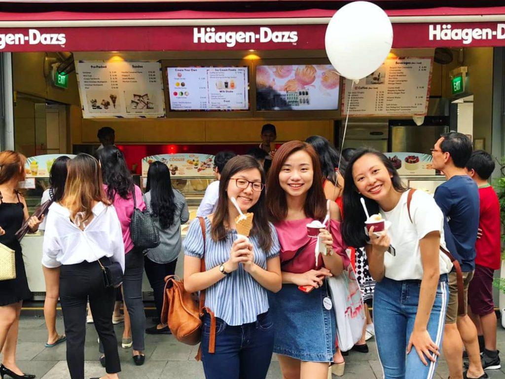 Helium Balloons Giveaway for Haagen dazs