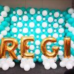 REGI Balloon Backdrop Decoration