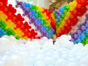 Rainbow Balloon Pit Singapore
