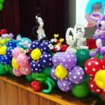 Stage Front Balloon Decoration