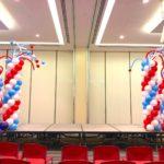Stage Balloon Columns