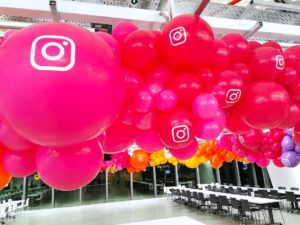 Balloon Decorations for Instagram