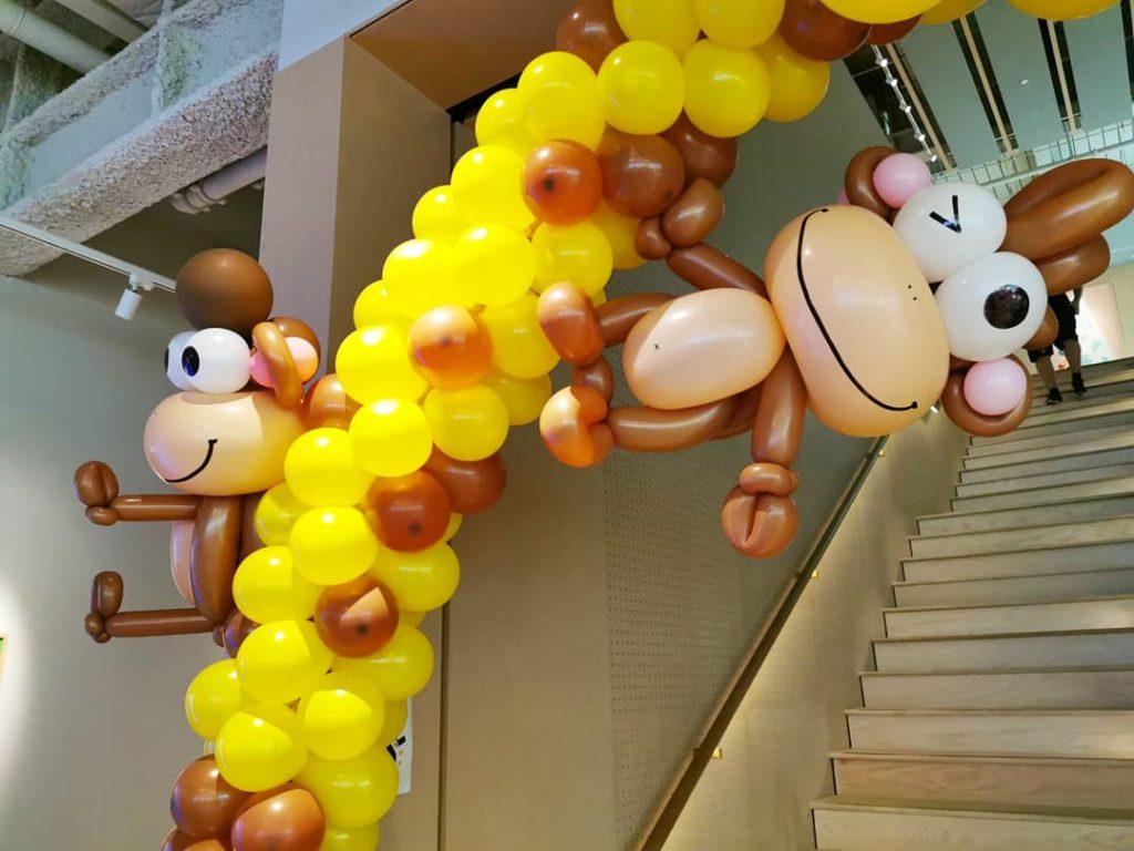 Balloon Monkey Sculpture Singapore