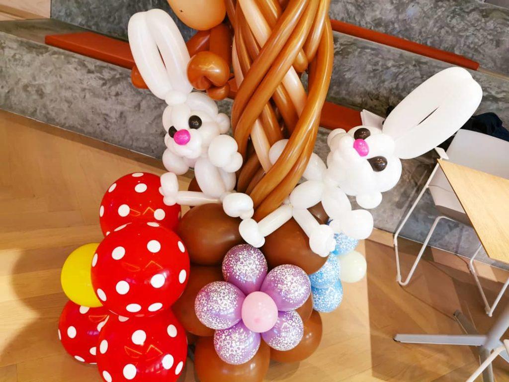 Balloon Rabbit Sculpture Singapore