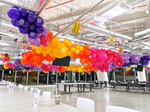 Organic Balloon Garland Decorations